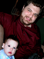 Photo of Benjamin Smedberg and Baby